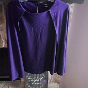 Iman Sz Med Attached One Piece Cape w/Tank Sweater